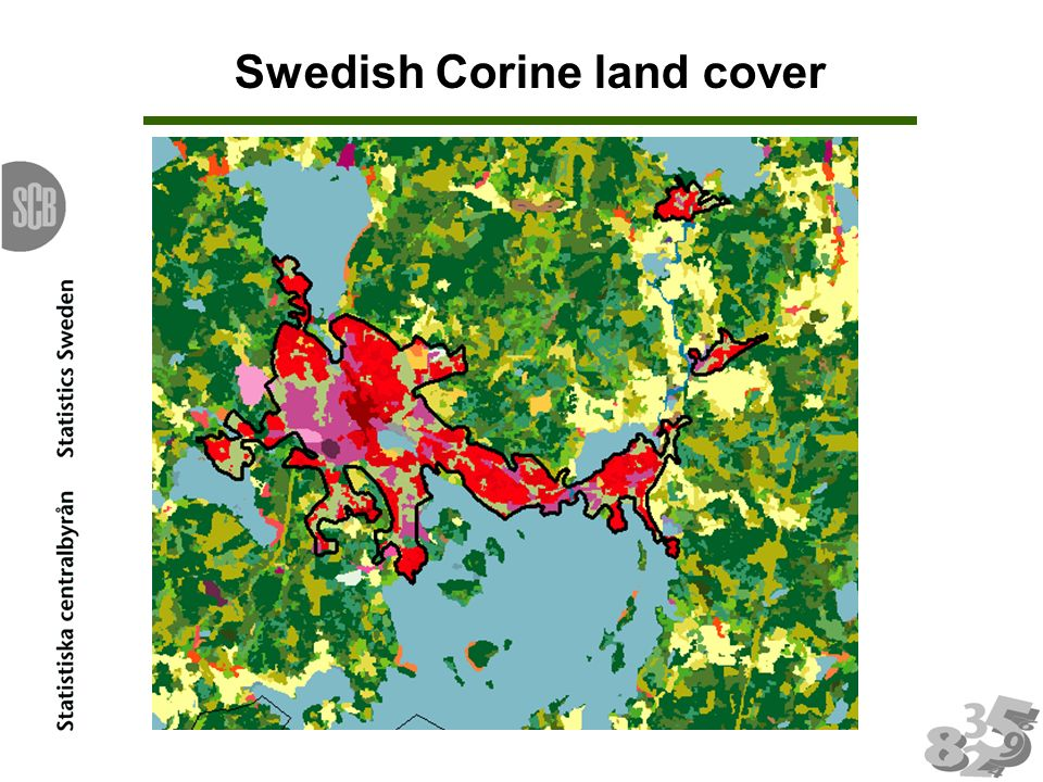 Swedish Corine land cover