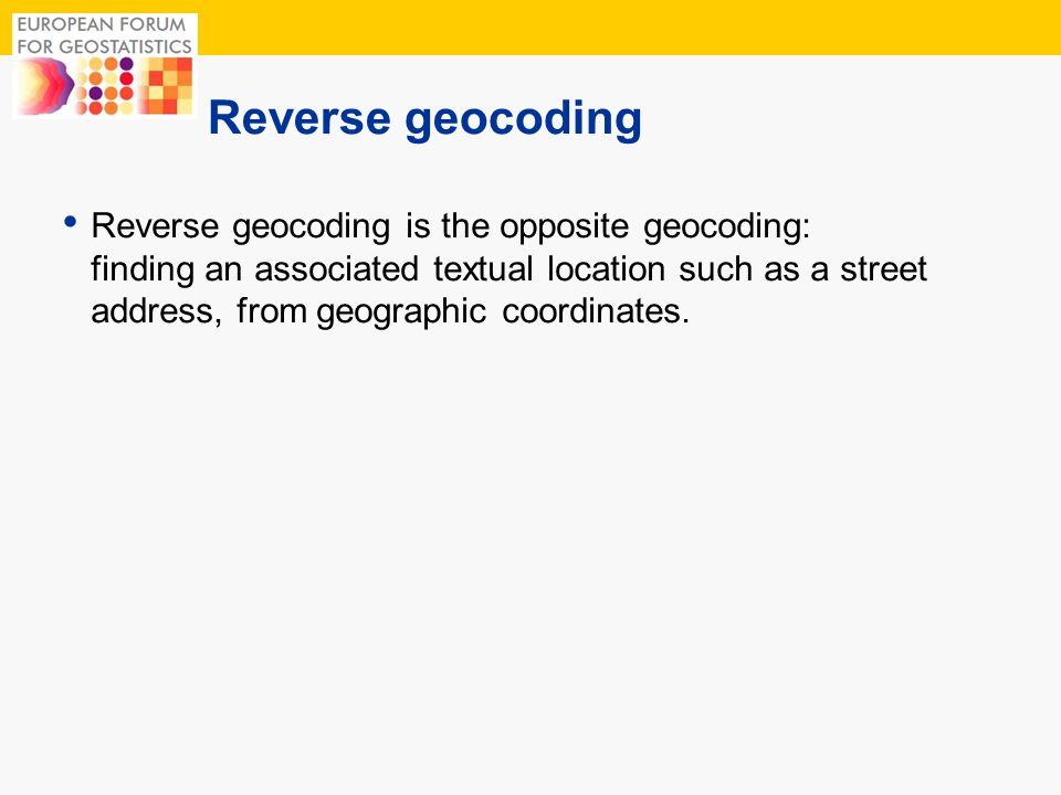 10 Geocoder A geocoder is a piece of software or a (web) service that helps in this process.