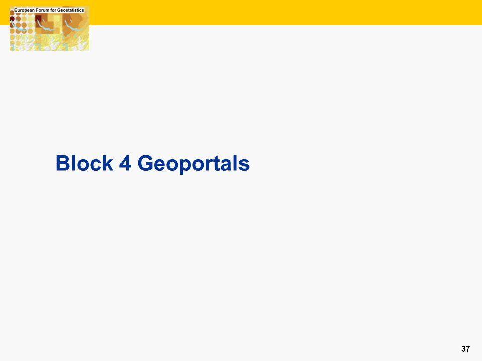 37 Block 4 Geoportals
