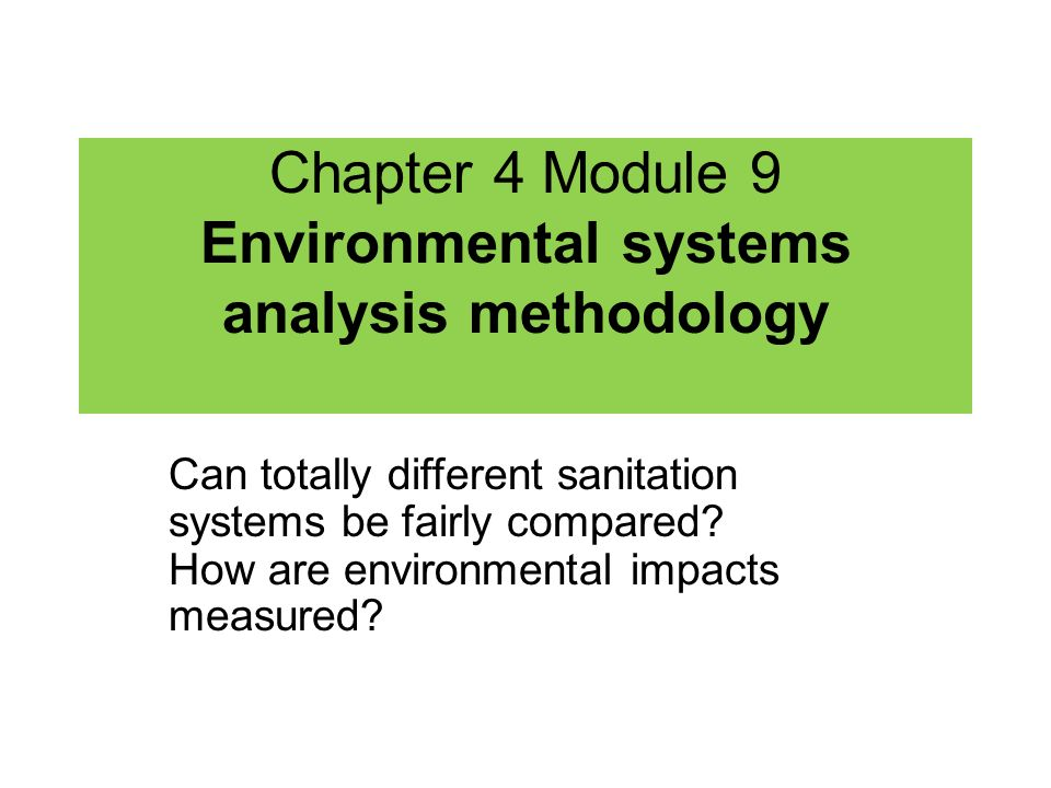 Remember… It is a great difference between potential and actual environmental impacts.
