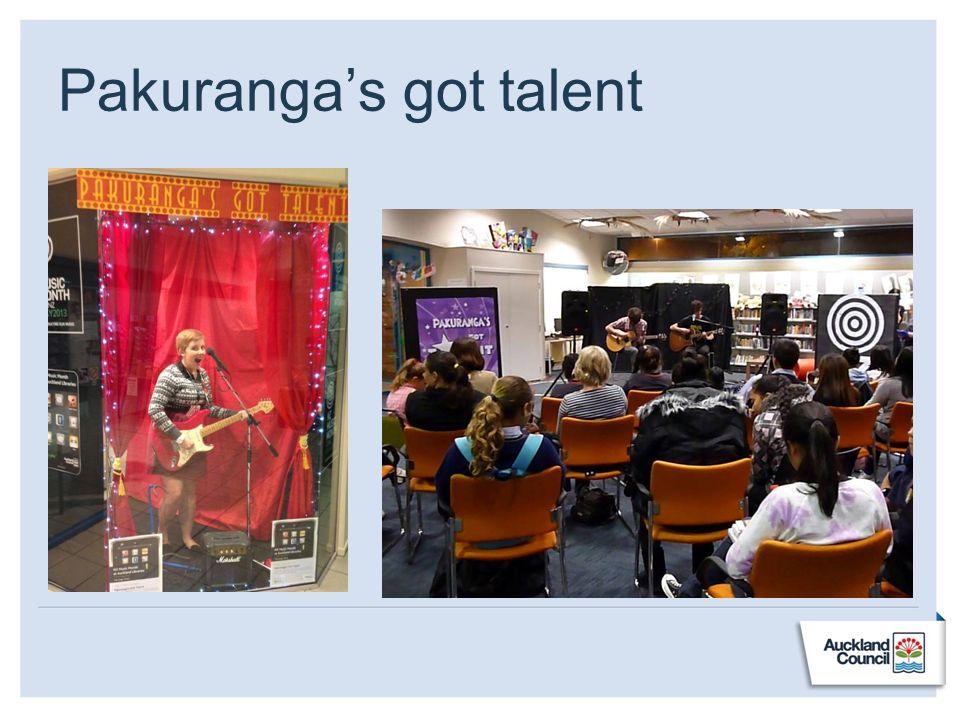 Pakurangas got talent