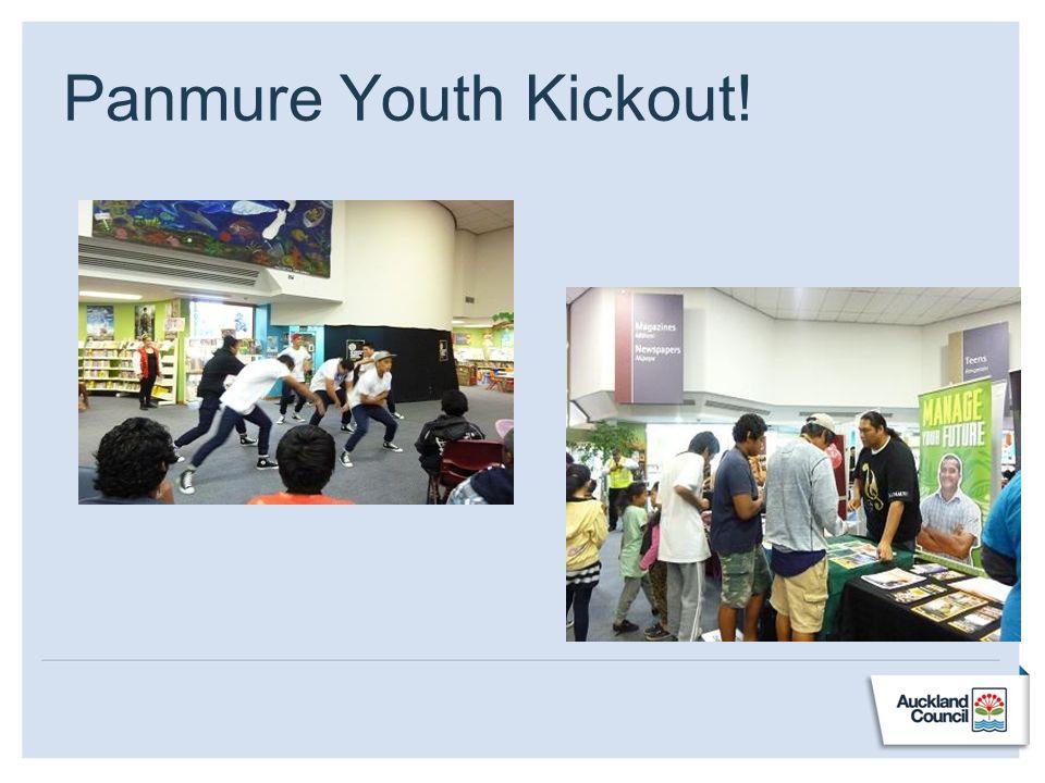 Panmure Youth Kickout!