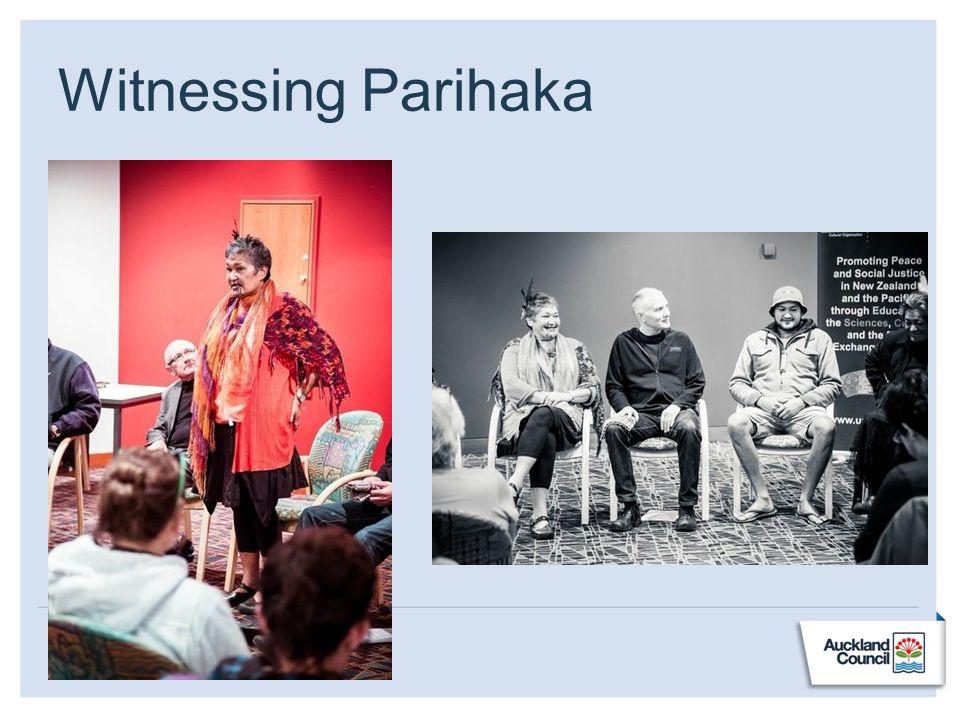 Witnessing Parihaka