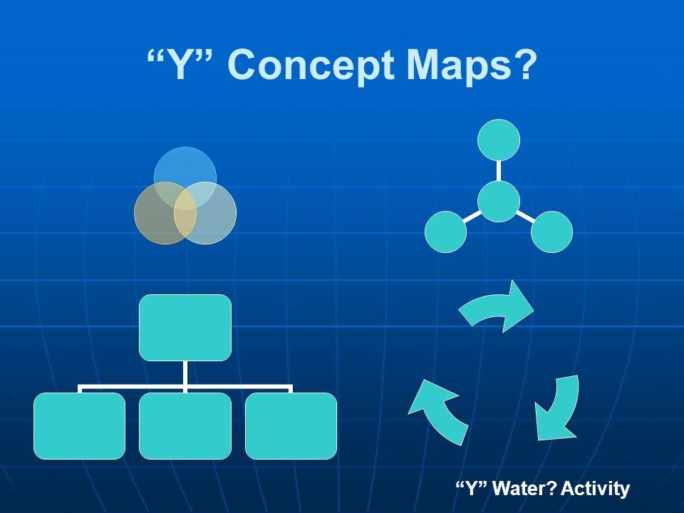 Y Concept Maps? Y Water? Activity