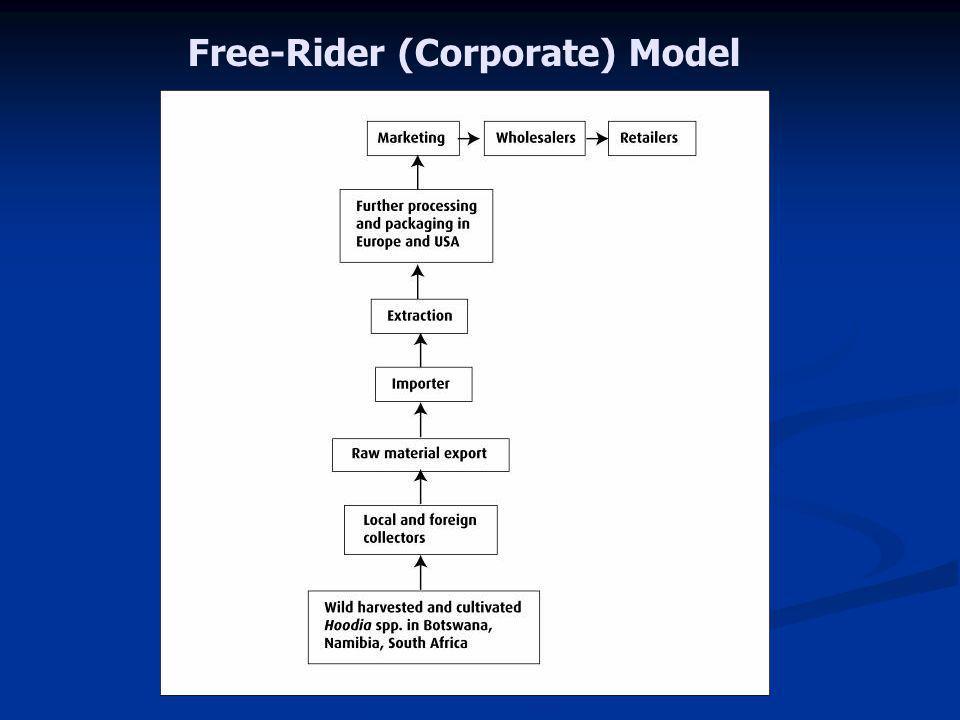 Free-Rider (Corporate) Model