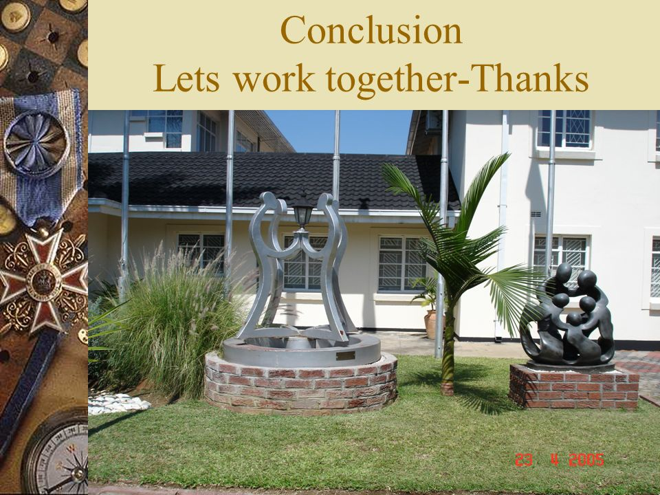 Conclusion Lets work together-Thanks