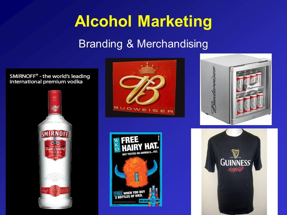 Alcohol Marketing Branding & Merchandising