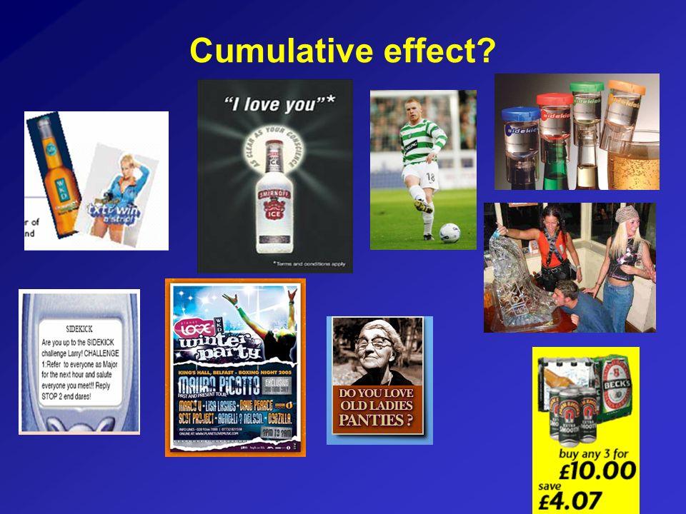 Cumulative effect?