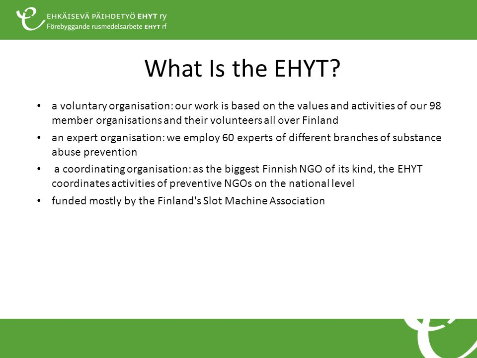 What Is the EHYT.