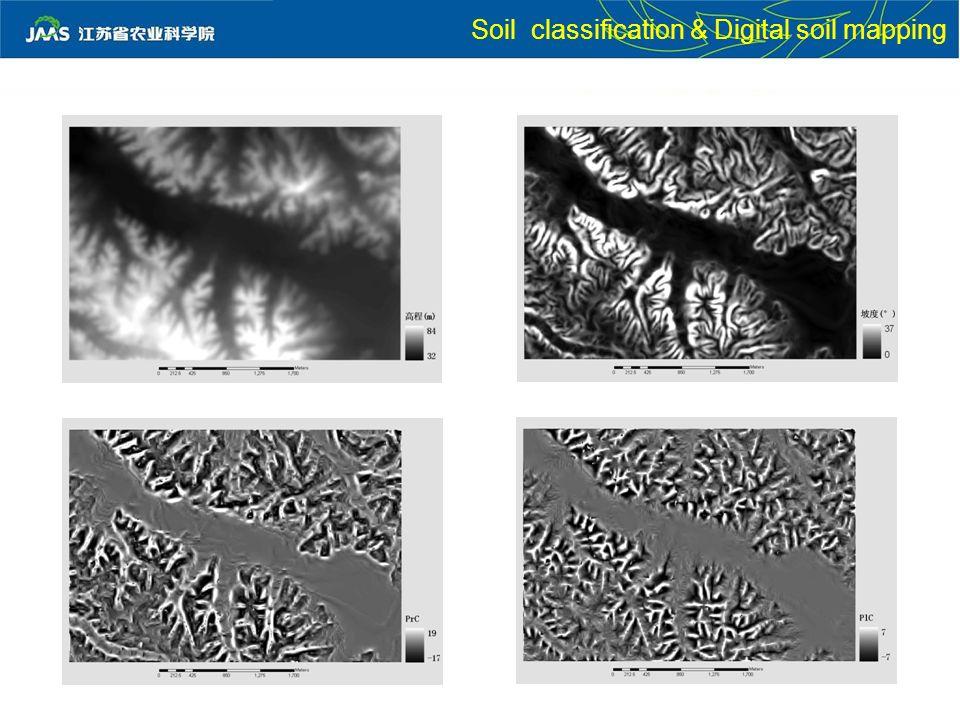 Soil classification & Digital soil mapping