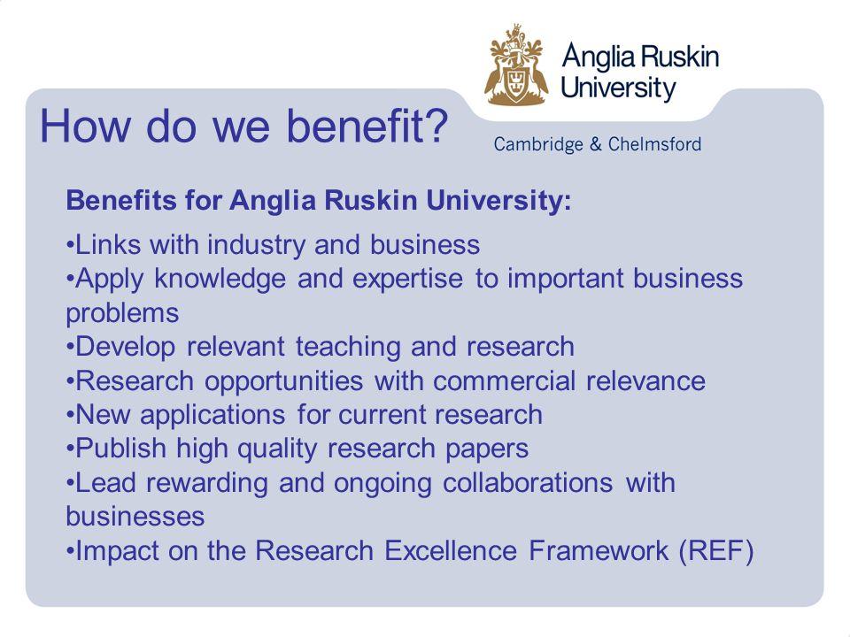 How do we benefit.