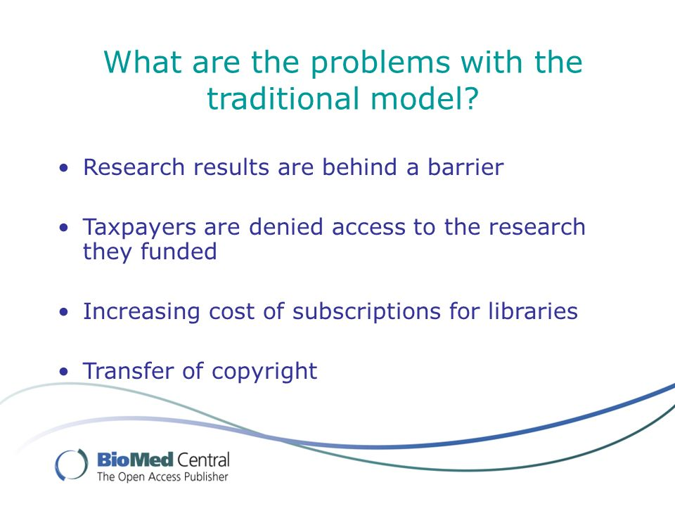 BioMed Central: quality journals