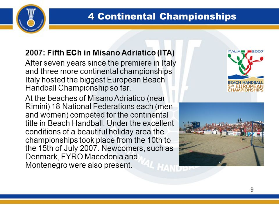 4 Continental Championships Croatia sends both teams to the finals: In the womens competition the usual suspects were competing for the title.