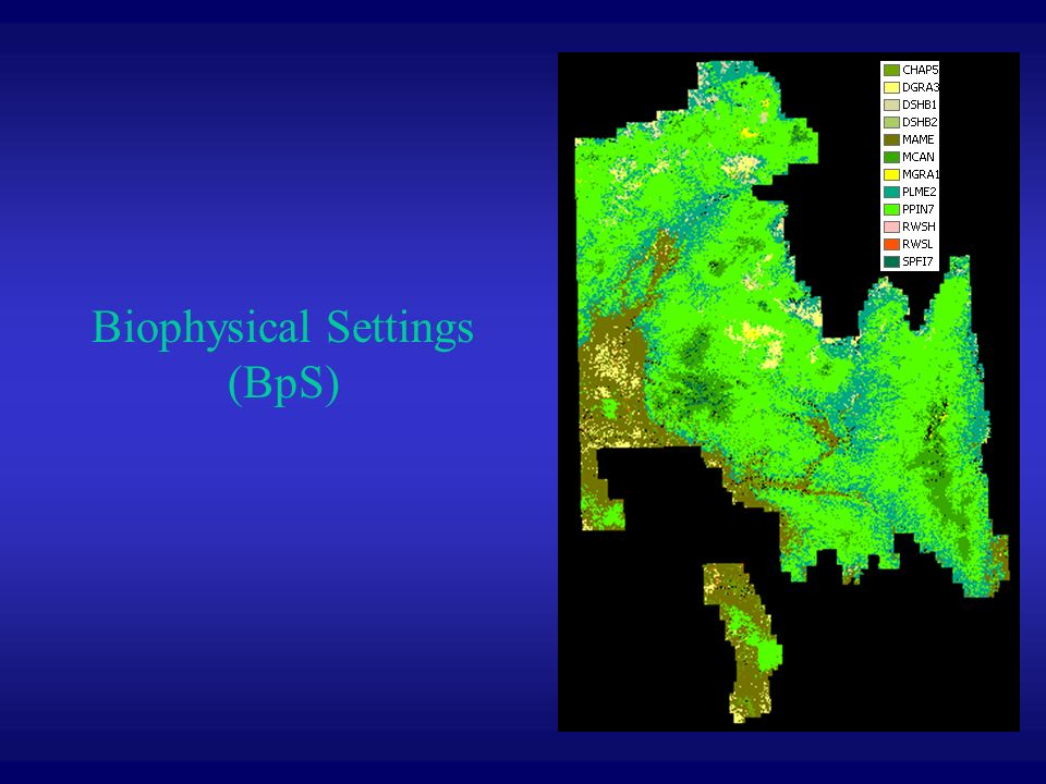 Biophysical Settings (BpS)