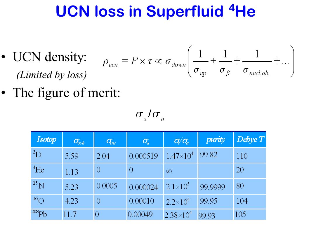 Dynamics of UCN Production -- Defeat thermal equilibrium Extract UCN out of the source before it is thermalized Spallation N source + Separation of the source and the storage by a valve