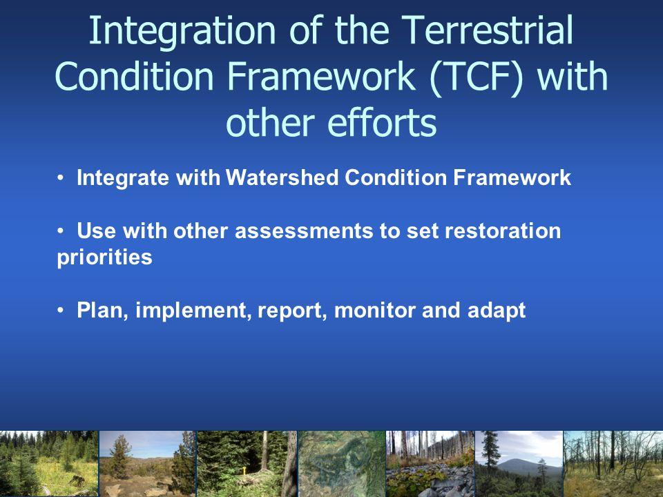 Terrestrial Condition Framework Disturbance Agents and Stressors Biotic 1.