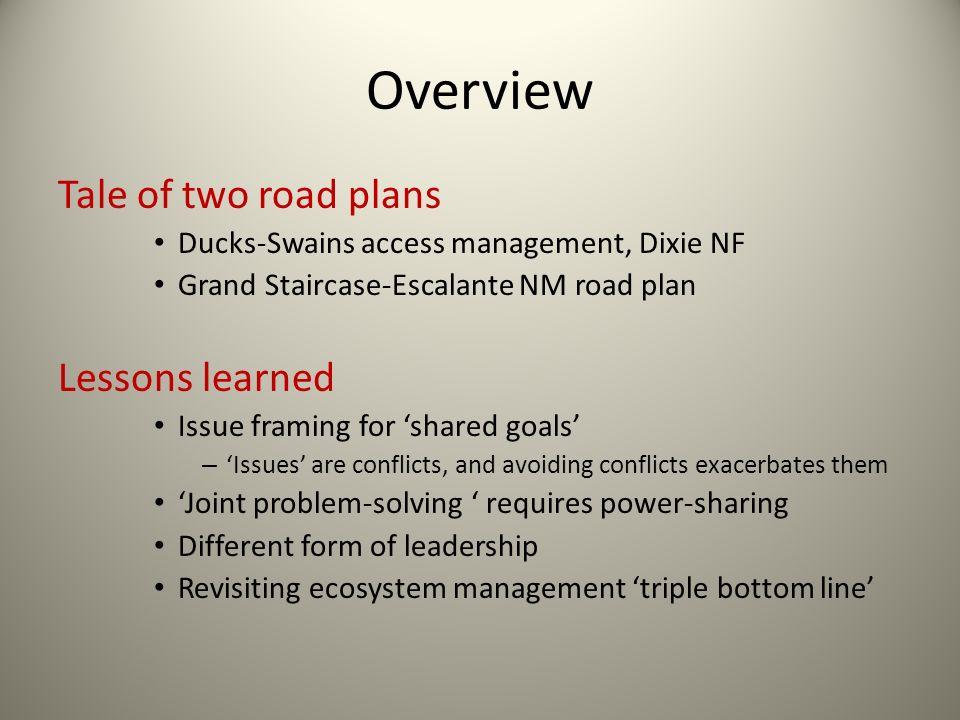 Revisit: Triple Bottom Line Changing model of ecosystem management decision criteria.