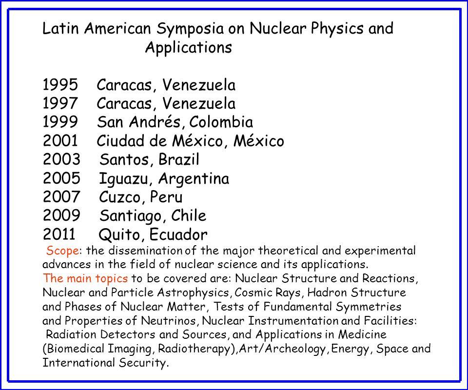 NUCLEAR PHYSICS RESEARCH IN BRAZIL Alinka Lépine-Szily Instituto de Física-USP São Paulo, Brazil