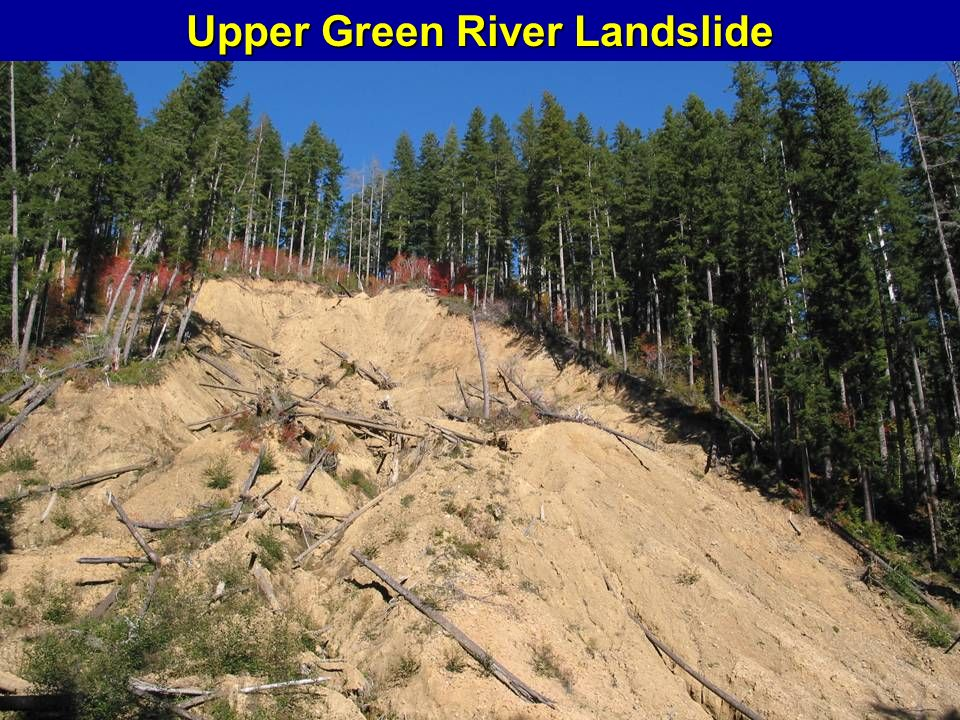 Upper Green River Landslide