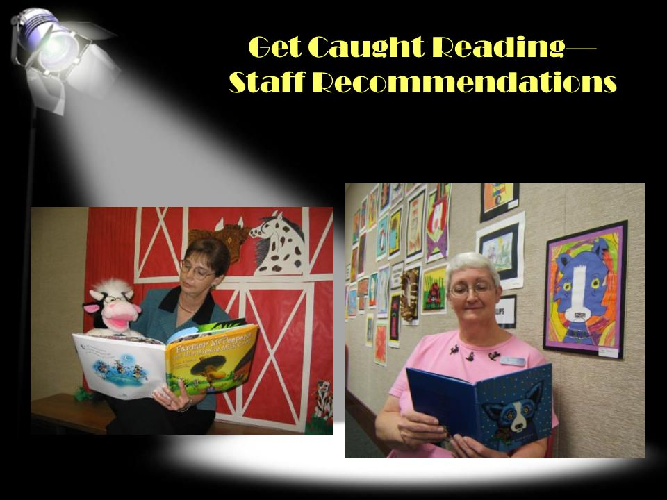 Get Caught Reading Staff Recommendations