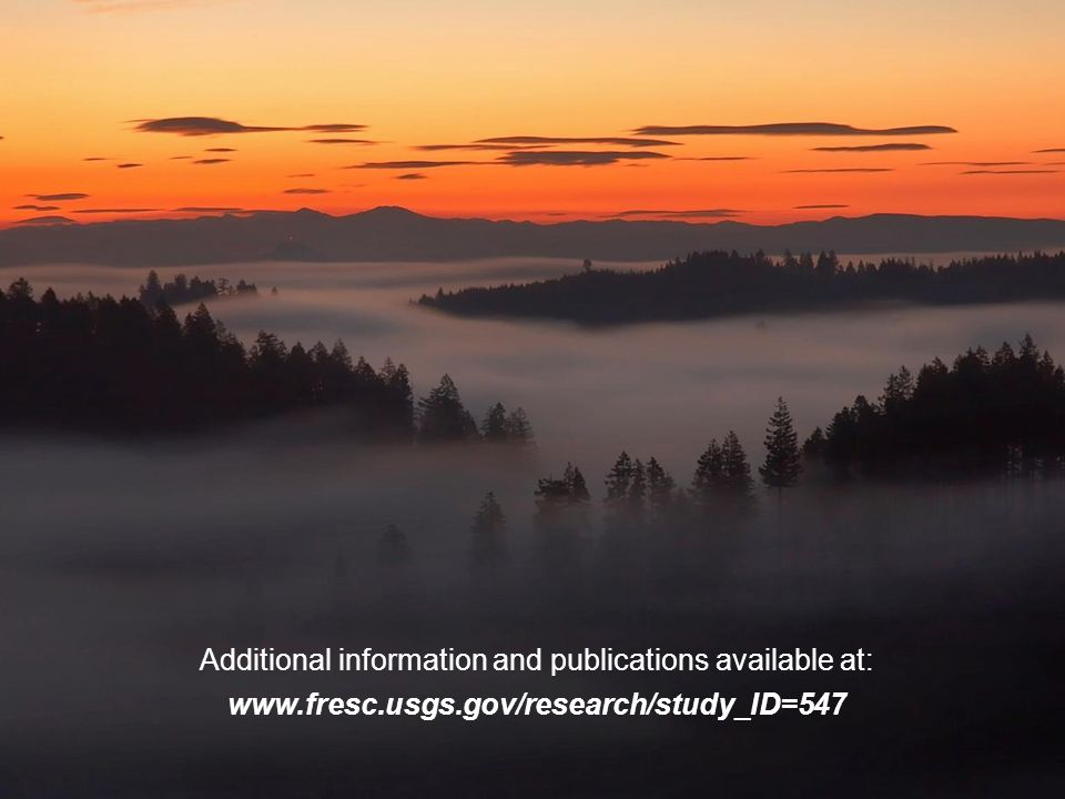 Additional information and publications available at: www.fresc.usgs.gov/research/study_ID=547