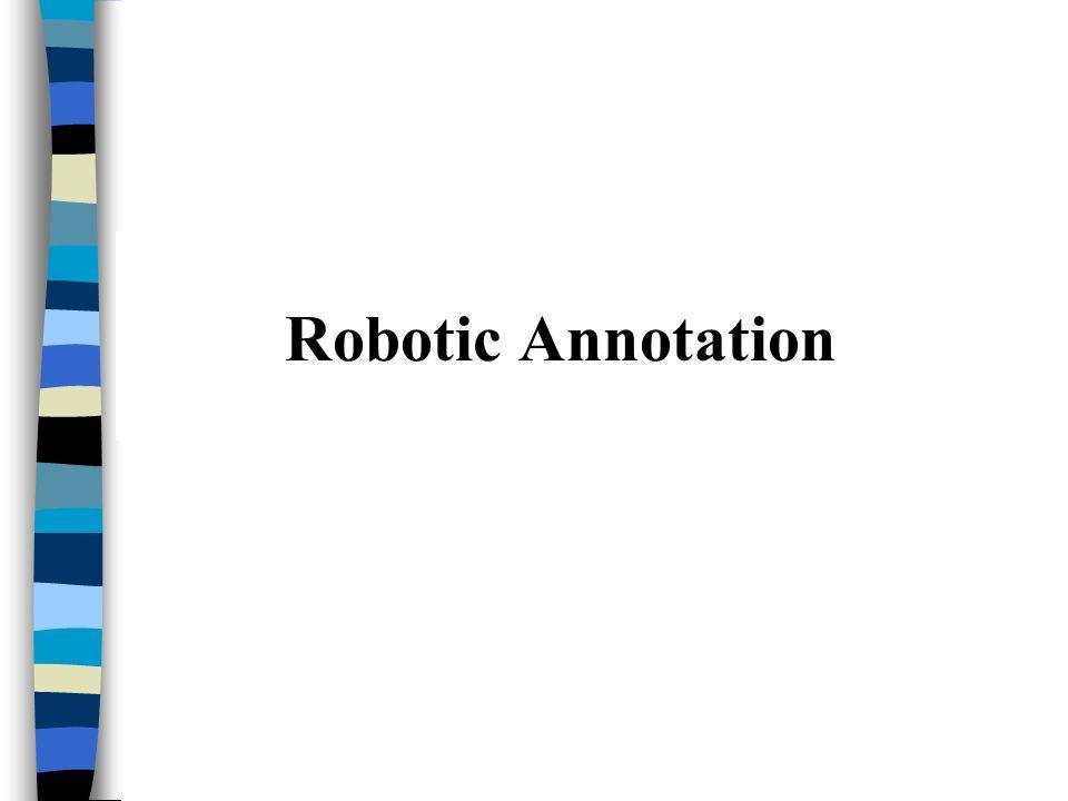 Robotic Annotation