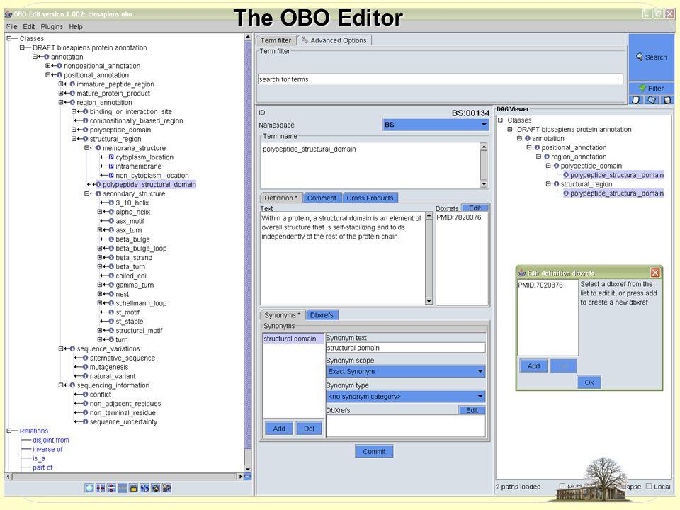 The OBO Editor