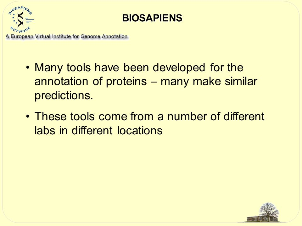 Information on metal binding sites from two sources