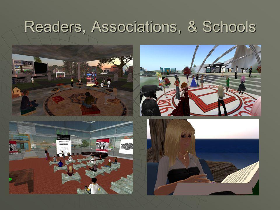 Readers, Associations, & Schools