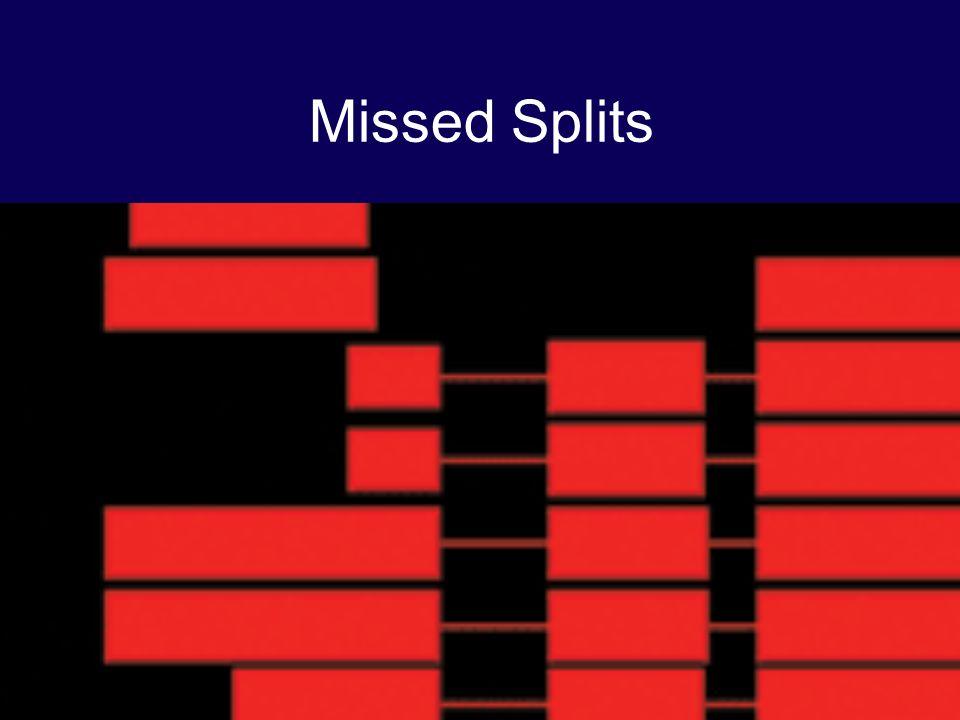 Missed Splits