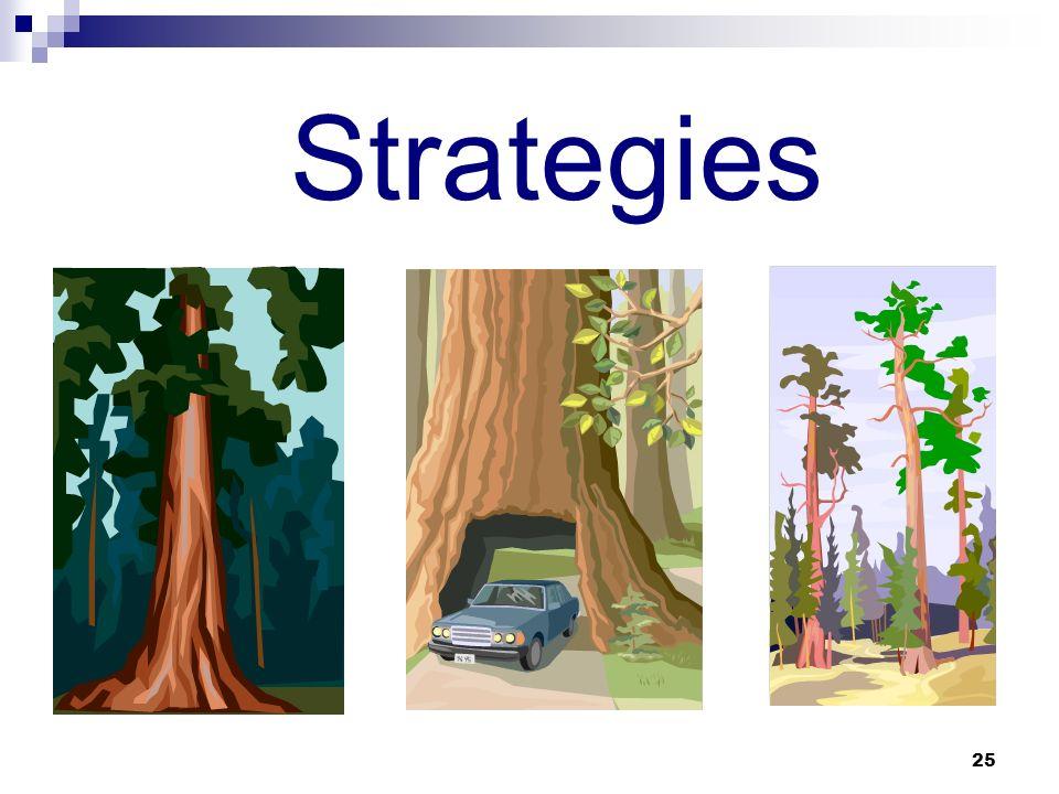 25 Strategies