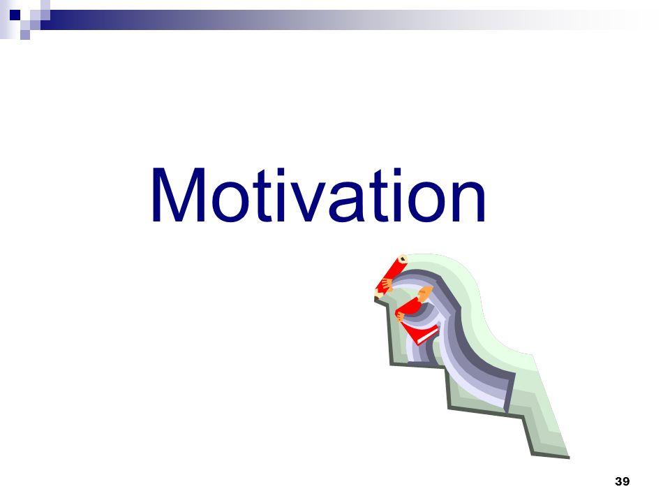 39 Motivation