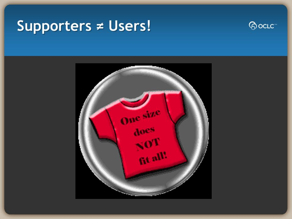 Supporters Users!