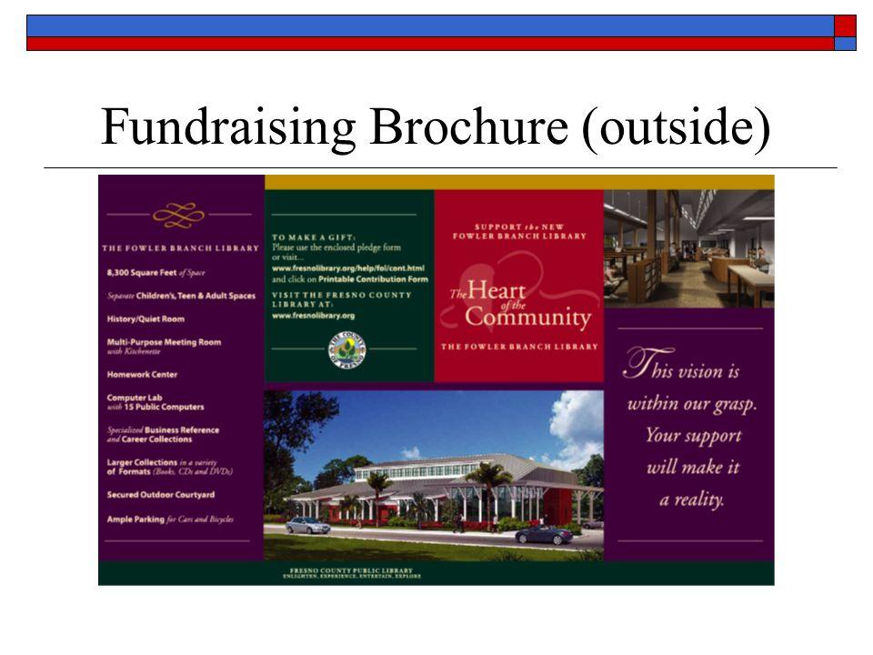 Fundraising Brochure (outside)