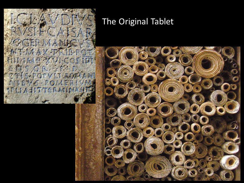 The Original Tablet