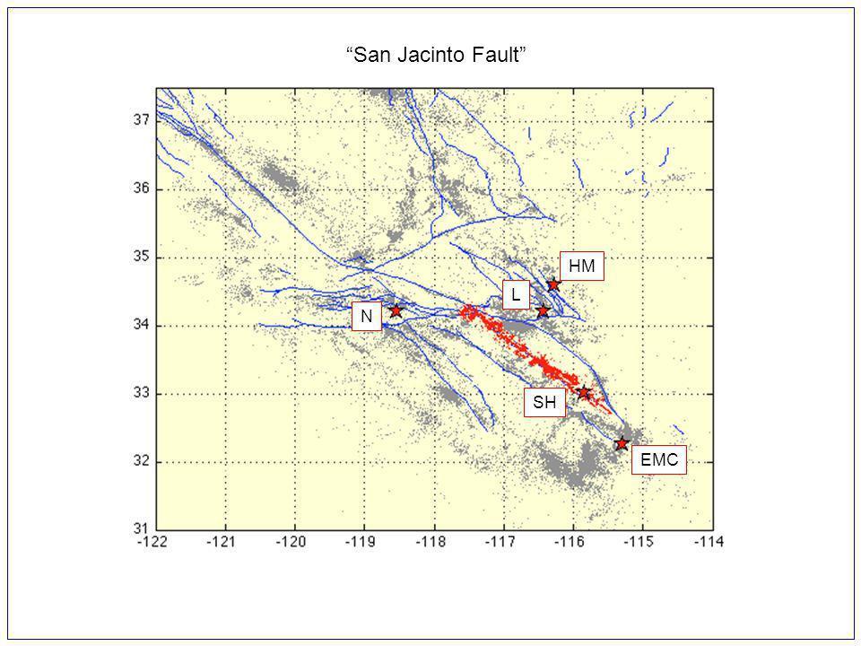 San Jacinto Fault SH EMC L N HM