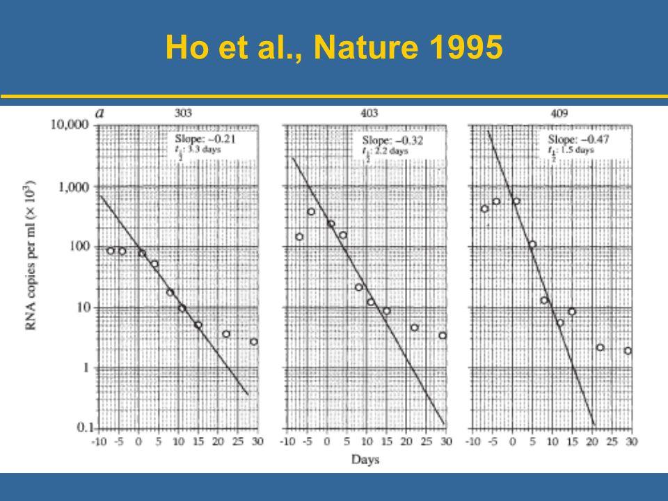 Ho et al., Nature 1995