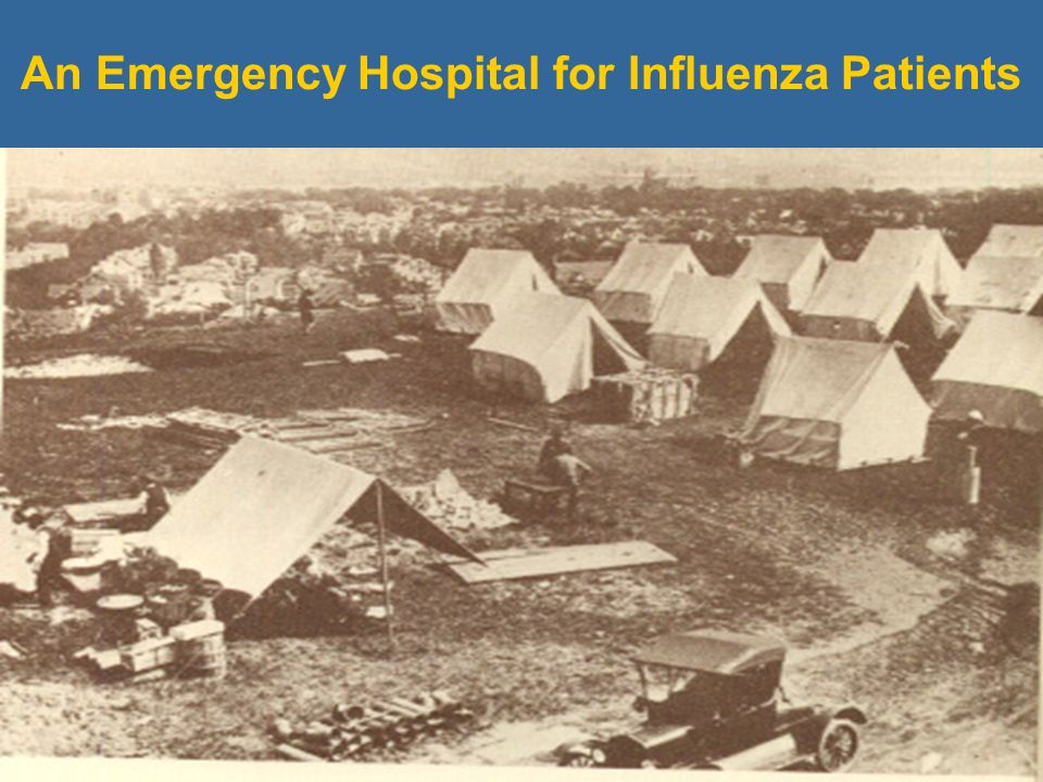 An Emergency Hospital for Influenza Patients