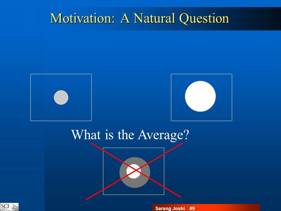 Sarang Joshi #20 Simple Statistics on Interesting Spaces: Averaging Anatomies