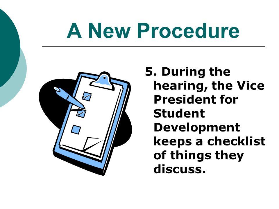 A New Procedure 5.