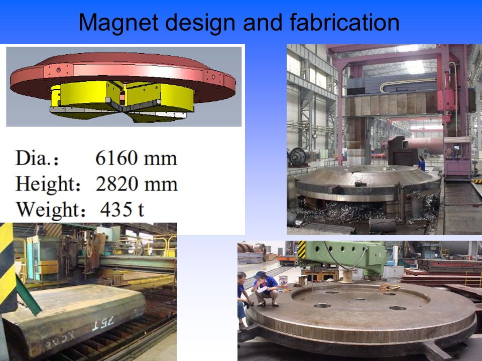 18/23 Magnet design and fabrication