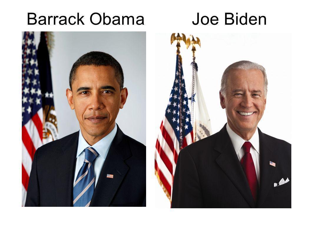 Barrack Obama Joe Biden