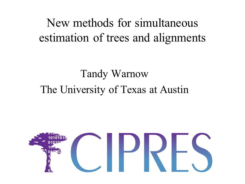 Biological datasets Used ML analyses of curated alignments (8 produced by Robin Gutell, others from the Early Bird ATOL project, and some from UT faculty) Computed several alignments and maximum likelihood trees on each alignment, and SATe trees and alignments.