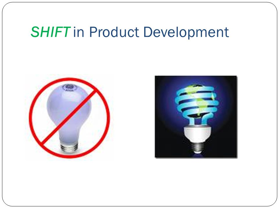 SHIFT in Product Development
