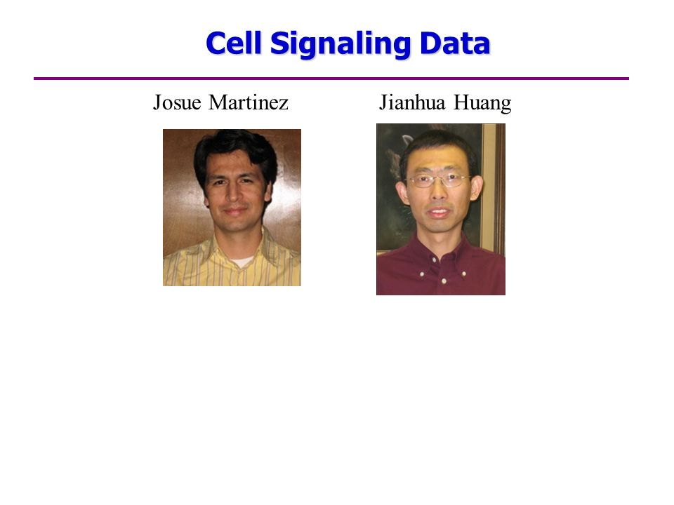 Cell Signaling Data Josue Martinez Jianhua Huang