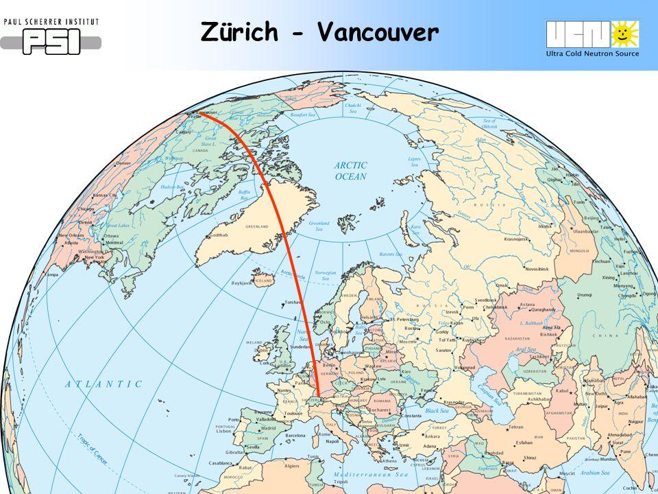 Zürich - Vancouver