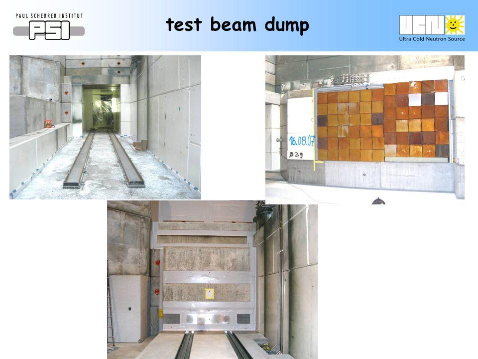 test beam dump