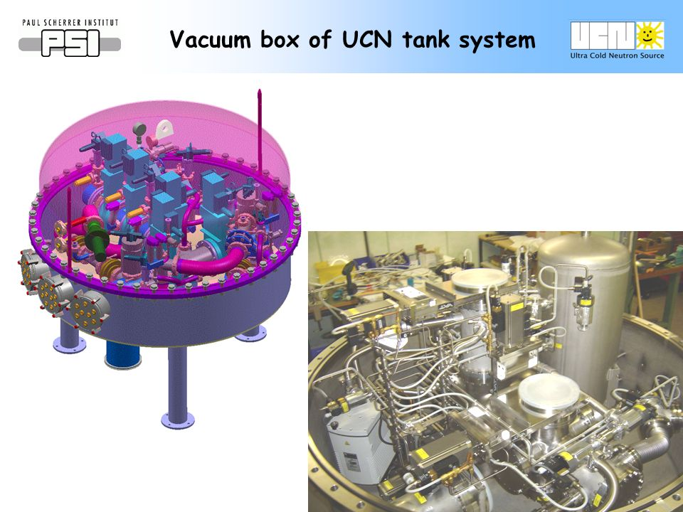 Vacuum box of UCN tank system