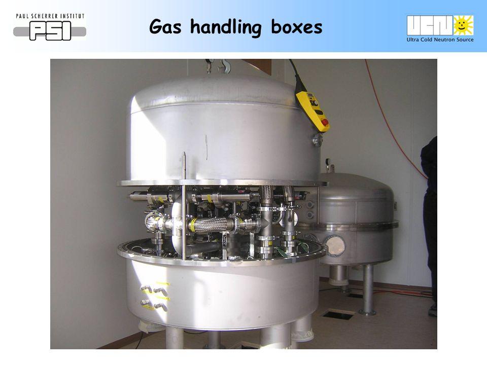 Gas handling boxes