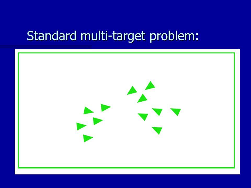 Standard multi-target problem: